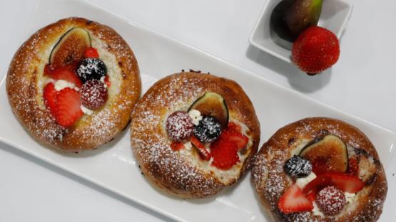 Vatrushka: Pan dulce de queso